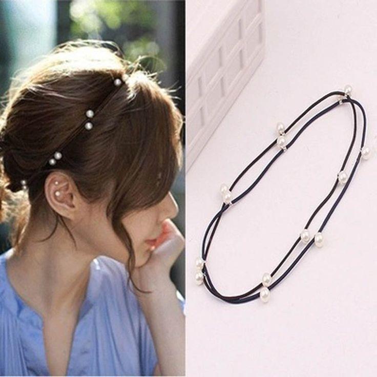 Newest Hair Accessories fashion Bohemia Elastic stretch headbands hairpin  best gift for women girl HA-104