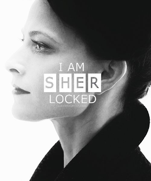 Sherlock BBC / Irene Adler- I am SHER Locked. If was an adder snake in Doyle's adventure if the speckled ban