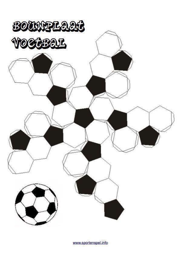 bouwplaat voetbal