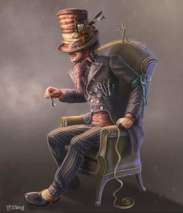 THE HATTER BY J VENG