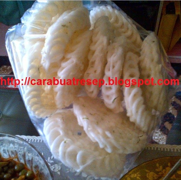 Gambar Kerupuk Uyel Putih Garing Sajian Sedap Pewarna Makanan Makanan Resep