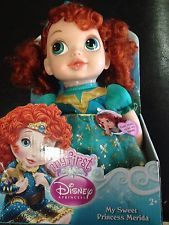 My First Disney Princess Deluxe Baby Merida Doll Daycare