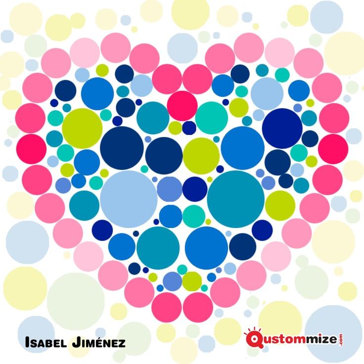 """I Concurso de ilustración """"Jon"""" (San Valentín 2.013).    Ilustración seleccionada para la exposición virtual. Isabel Jiménez."""