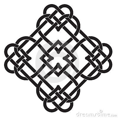 Celtic Knot Motif by Katya Triling, via Dreamstime