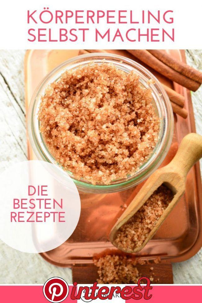 Make body peeling yourself – the best recipes f – Diy Face Mask Ideas   Körperp… beddc525e694036a31bab4c0c3b9b8ed