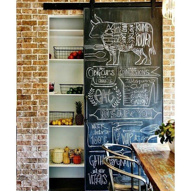 17 melhores ideias sobre portas despensa lousa no pinterest ...