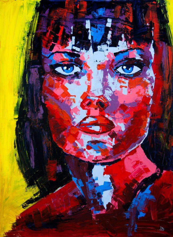 (Close V) - Acrylic on canvas (60 x 80cm)