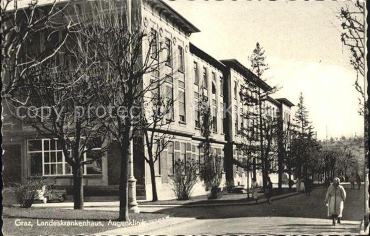Landeskrankenhaus, Augenklinik, Graz, 1966