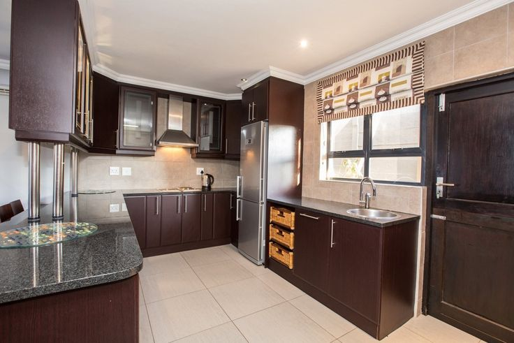 Kitchen at On Madeleine Holiday Home Ballito. Accommodation in Ballito.