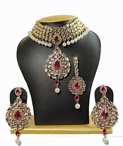 Indian Bollywood Pink Stone Bridal Gold Plated Party Wear... https://www.amazon.com/dp/B01N4R8744/ref=cm_sw_r_pi_dp_x_YfYHybPEC9CWV