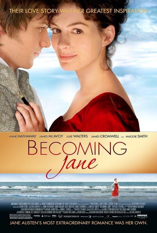 Becoming Jane (2007)Film, Romantic Movie, Jane 2007, James Mcavoy, Jane Austen, Watches Movie, Favorite Movie, Anne Hathaway