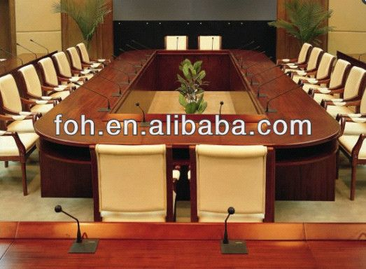Wooden Detachable Modular Boardroom Table With Mirophone Pin (fohs C8015)    Buy Modular Boardroom Table,Detachable Boardroom Table,Boardroom Table With  ...