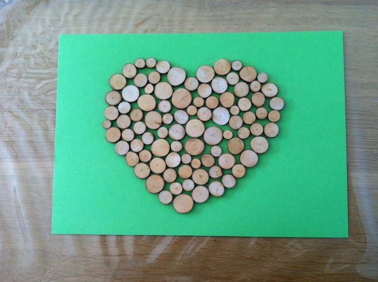 hout aan de muur | Zodra je de vorm hebt opgevuld is je eerste houten kunstwerk klaar ...