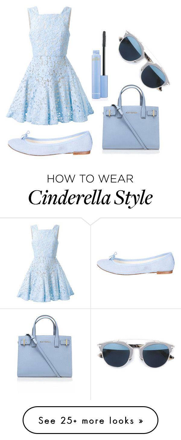 """""""Baby Blue for Valentine's Day"""" by deborahanamariarachelina on Polyvore featuring Kurt Geiger, Alex Perry, Repetto, Christian Dior, women's clothing, women, female, woman, misses and juniors"""