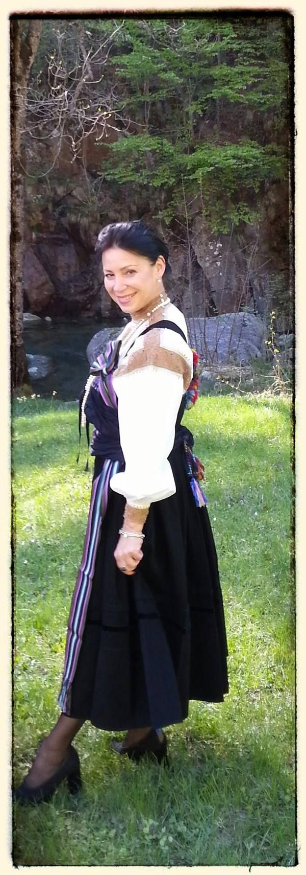 Ancient wedding's dress - Fobello in Valsesia (VC) - Piemont (Italy)