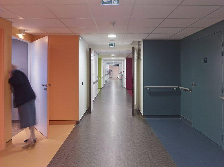 Seniors' Residence + Nursery designed by a/LTA, Route de Rennes, Nantes, France - 2012.