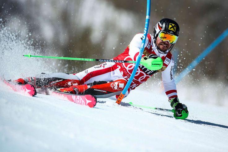 4.Marcel Hirscher +0,32 ..trotz Bestzeit im 1.Lauf