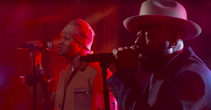 Watch Talib Kweli's Rueful Performance of 'The One I Love' on 'Colbert' #headphones #music #headphones