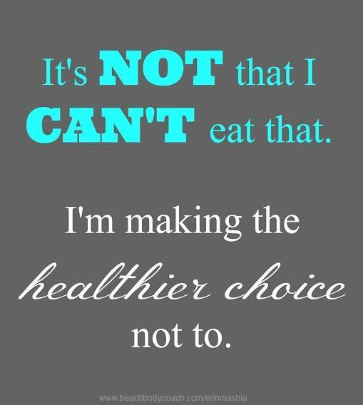 It's all about choices