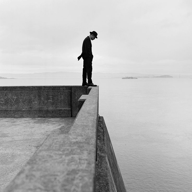 "Rodney Smith :: On the Idea of Being in the Edge / Leaping Point ""Some years ago, I was asked to make photographs that illustrated the idea of being on the edge. This was a perfect assignment since my life always seems to be on the edge of some ledge or precipice.I never seem to have trouble pushing conversation and my physical self to the edge of inappropriateness and danger, but I never seem to make that final leap to intimacy or faith, except with the help of my little camera.""   more…"