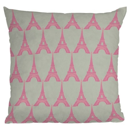Oui Oui Throw PillowParis, Eiffel Towers, Crafts Room, Girls Room, Yes Yes, Denis Design, Bianca Green, Throw Pillows, Green Oui