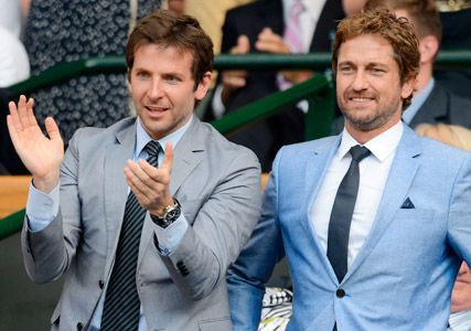 Gerard Butler and Bradley Cooper, these guys will be my Wimbledon dates for the finale 2014!