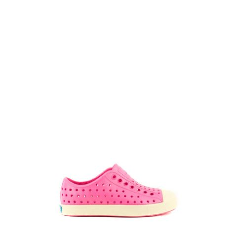 NATIVE SHOES JEFFERSON CHILD HOLLYWOOD PINK/BONE WHITE 13100100-5660 | Solestop.com