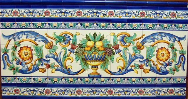 Mejores 25 im genes de azulejos y zocalos en pinterest - Zocalos de azulejos ...