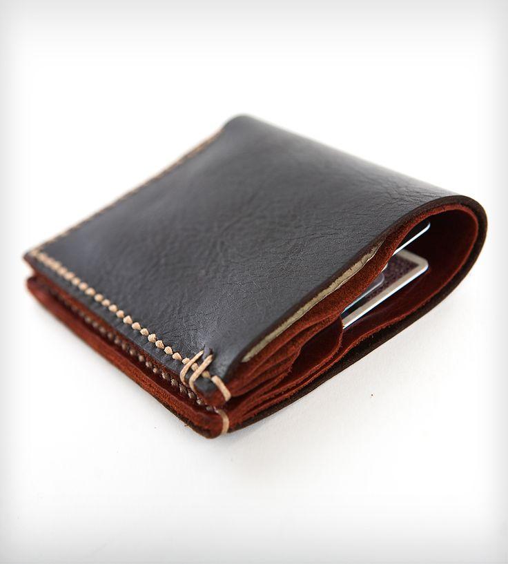 Bison Leather Bi-Fold Wallet | Men's Accessories | Cambria Handmade
