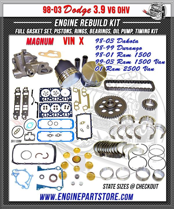 9 best Dodge Engine Rebuild Kits images on Pinterest   Engine ...