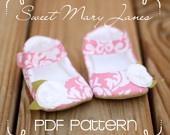 $4.50-Sweet Mary Janes PDF PATTERN
