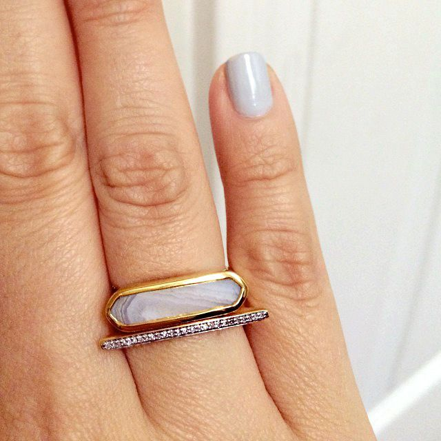 I jumped at the chance to create my own stack of Monica Vinader rings. It wasnt easy since all...