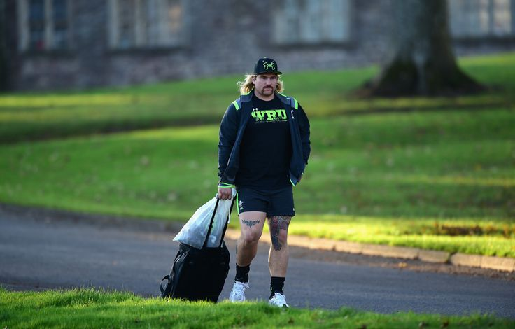 Richard Hibbard Photos: Wales Training Session