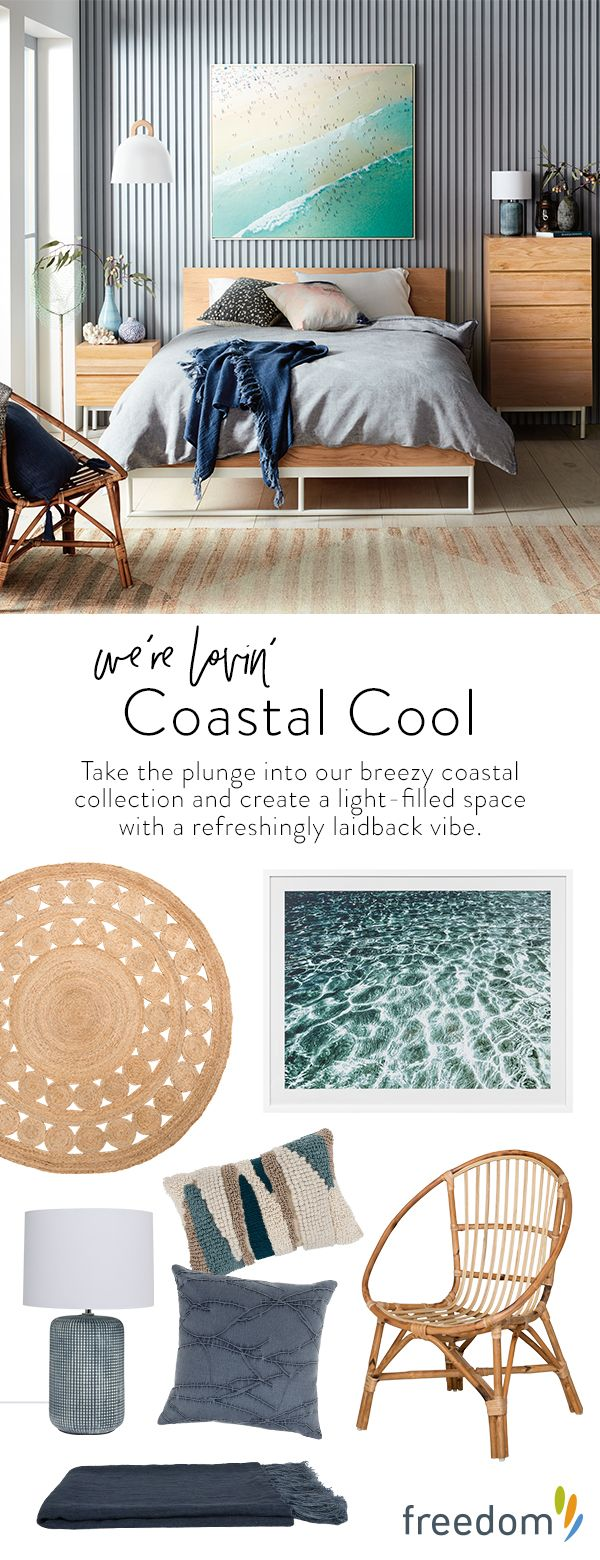 New day, new dawn! The change in seasons heralds the much-anticipated arrival of our fresh new interior trends and the freedom just-gotta-haves that you need to style each look. Take the plunge into the textural whites and classic neutrals of our breezy coastal collection and create a light-filled space with a refreshingly laidback vibe.