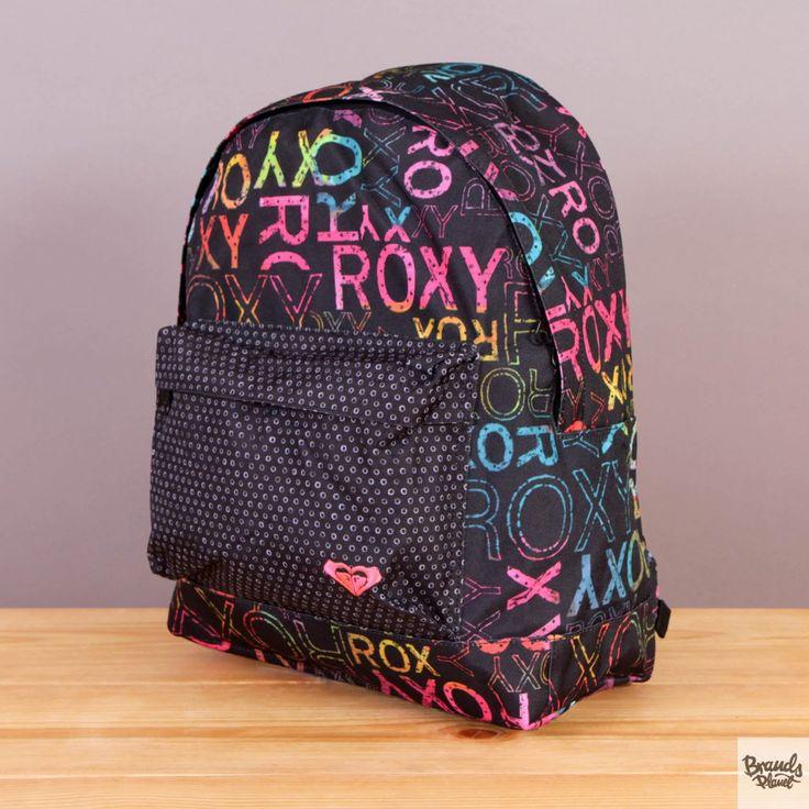 Plecak szkolny, na wycieczkę Roxy Be Young Waterland / www.brandsplanet.pl / #roxy