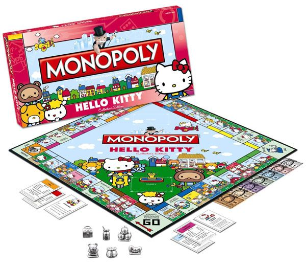 Hello Kitty MonopolyKitty Monopoly, Collector Editing, Monopoly Games, Boards Games, Monopoly Hello, Kitty Collector, Hellokitty, Hello Kitty, Metals Hello