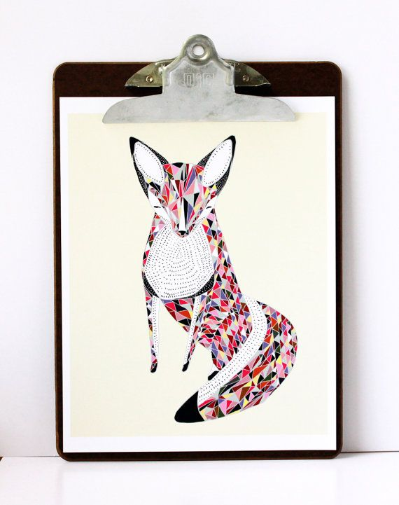 .: Fancy Foxes, Art, Illustration, Quiltedfox, Things, Fox Print, Foxy Foxes
