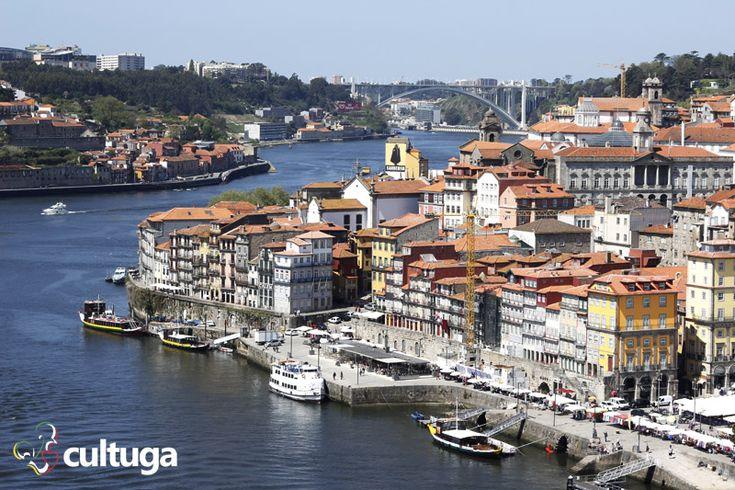 Vista incrível a partir da Ponte Dom Luís I, no Porto. Portugal | Roteiro de viagem
