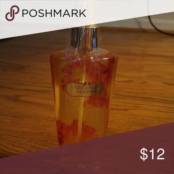 Victoria's Secret spray Coconut Passion 8.4 ounce brand NWOT Victoria's Secret Other