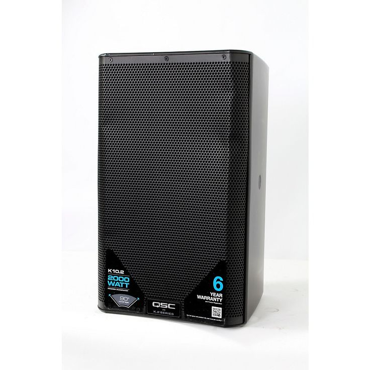 QSC K10.2 2,000W Powered 10 in. 2-way Loudspeaker System with Advanced DSP Regular 888366025581