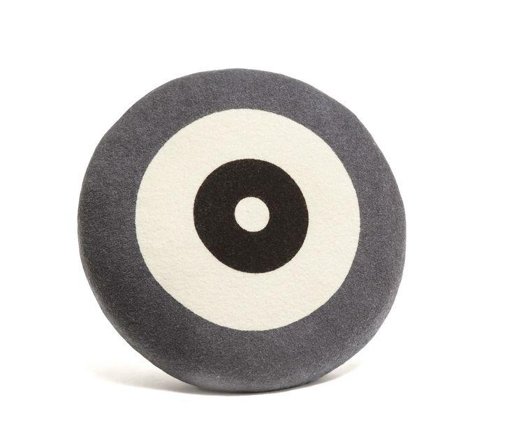 Wendt Design pude – Dot i grå farve - TInga Tango Designbutik