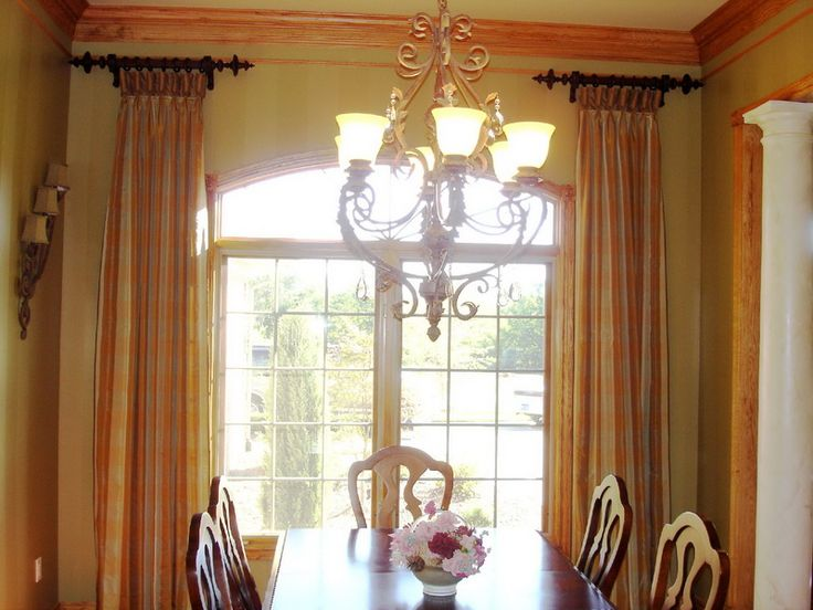 Window Treatments Ideas With Dining Room