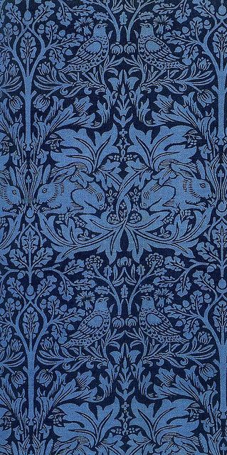 William Morris 'brother rabbit' 1881 by Design Decoration Craft, via