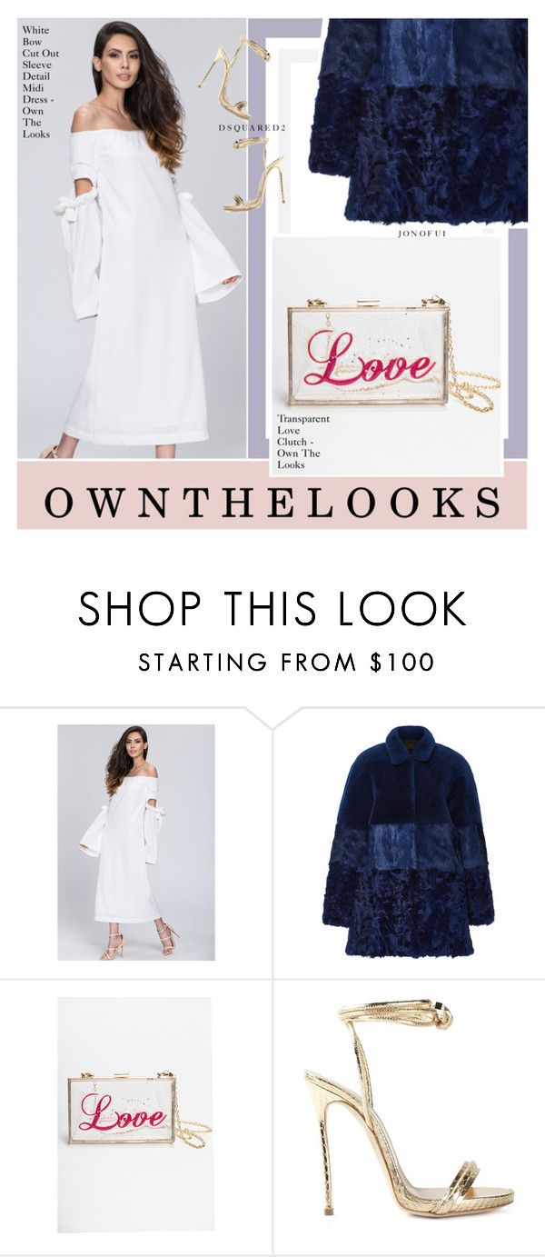 """""""OWN THE LOOKS 9"""" by amberelb ❤ liked on Polyvore featuring Jo No Fui, Dsquared2 and ownthelooks"""
