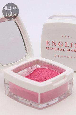 English Mineral Makeup Blush in Bubblegum