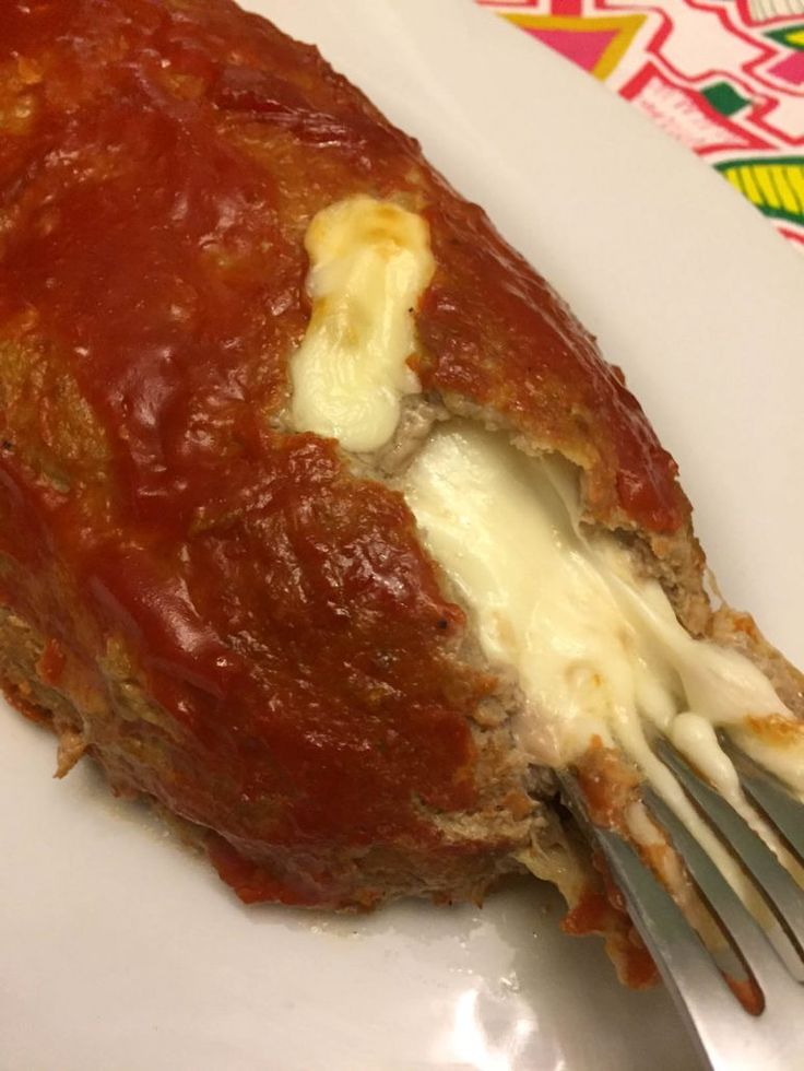 Easy Cheese Stuffed Meatloaf Recipe With Beef And Melted Cheese