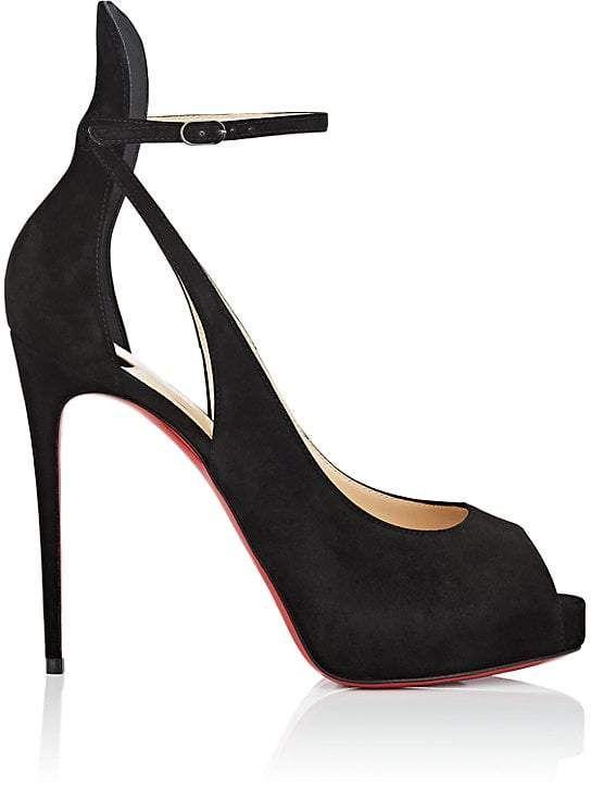 8d85754b12d2 Christian Louboutin Women s Mascaralta Suede Platform Sandals
