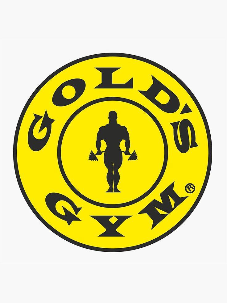 Gold S Gym Sticker
