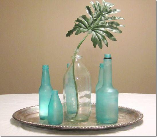 DIY beach glass look    http://kraftykat76.blogspot.com/2011/07/diy-beach-glass-jars-bottles.html#Glasses Painting, Diy Sea, Crafts Ideas, Beach Glasses, Painting Bottle, Glasses Jars, Glasses Bottle, Diy Beach, Sea Glasses