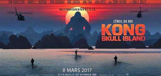 Kong: Skull Island : Un groupe d'explorateurs plus différents les uns que les autres s'aventurent au cœur d'une île inconnue du Pacifique, aussi belle que dangereuse. Ils ne savent pas encore qu'ils viennent de pénétrer sur le territoire de Kong…